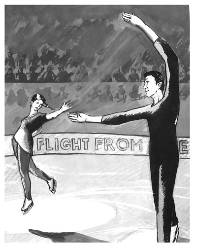 vocal cartoon - figure skating